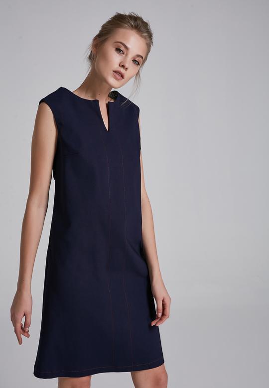 Dikiş Detaylı Elbise