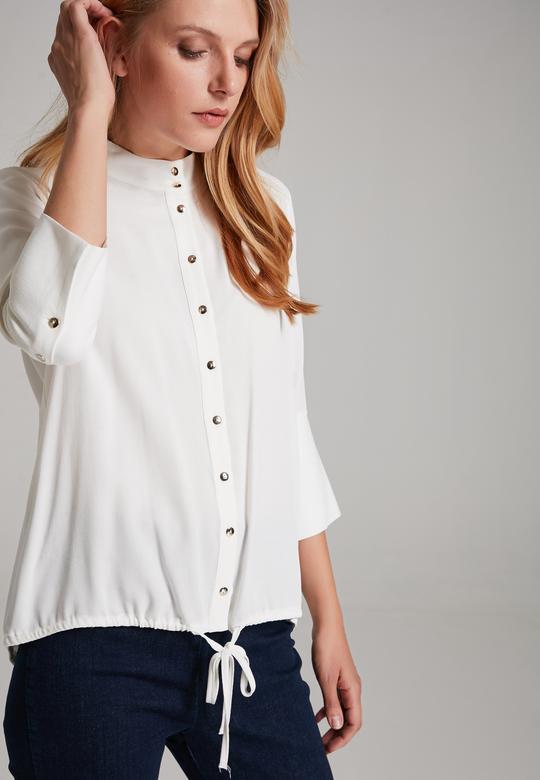 Geniş Manşetli Gömlek