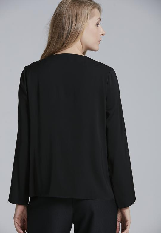 Aksesuarlı Bluz