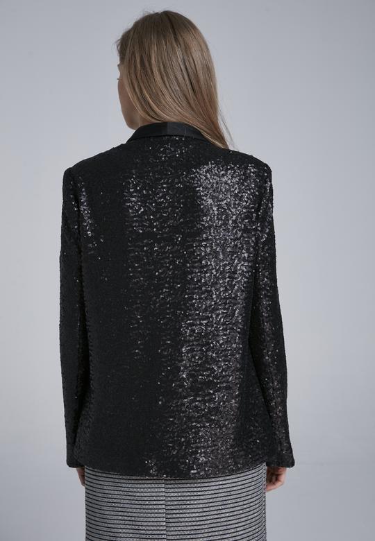 Şal Yakalı Ceket