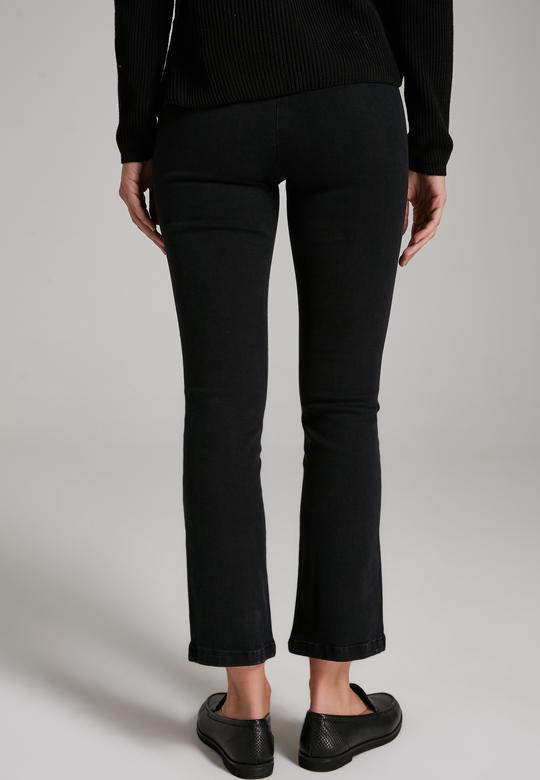 Yanı Fermuarlı Pantolon