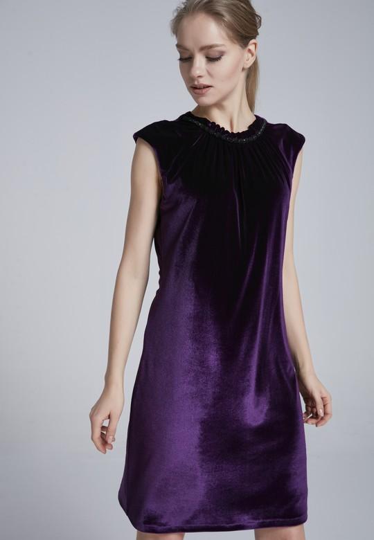 Kadife Elbise