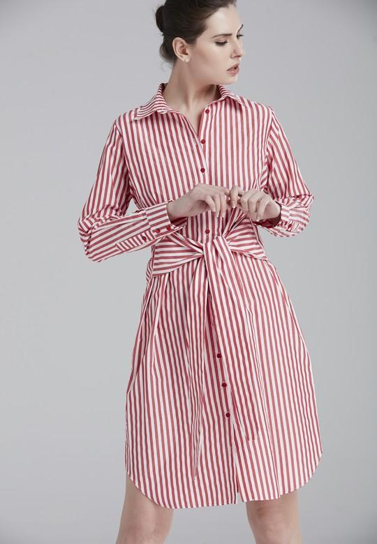 Önden Bağlamalı Elbise