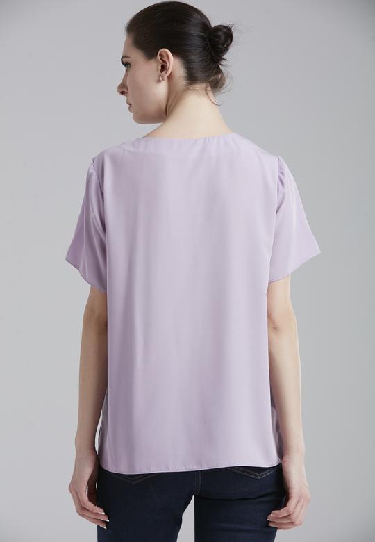 Yandan Yırtmaçlı Bluz
