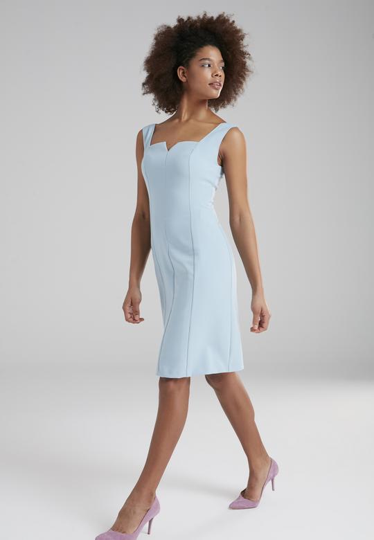 Kalın Askılı Elbise