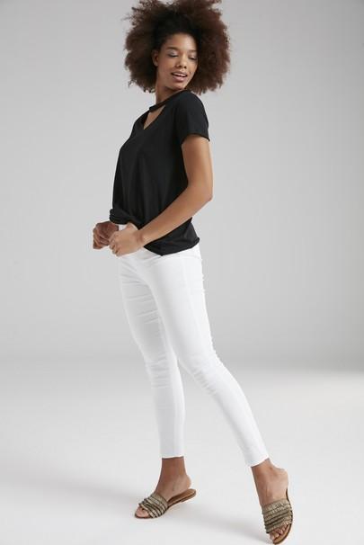Skinny Yüksek Bel Pantolon
