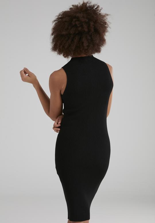 Fermuarlı Elbise