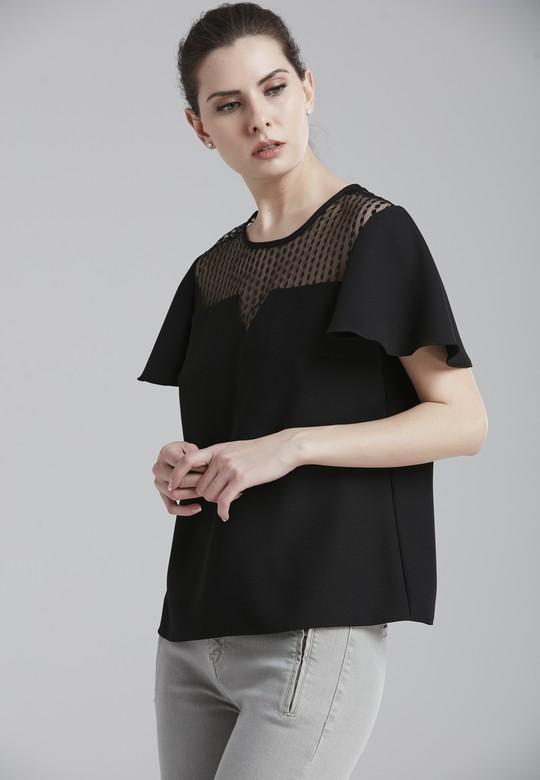 Kolu Pelerinli Bluz