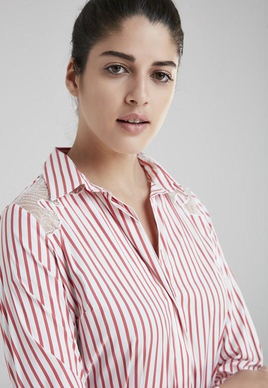 Nakışlı Gömlek Elbise