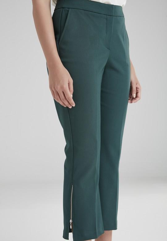 Paçası Fermuarlı Pantolon