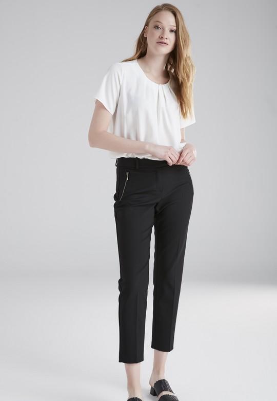 Fermuar Detaylı Pantolon