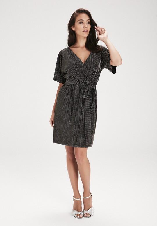 bf037b52f12 Gri Belden Bağlamalı Elbise | Love My Body