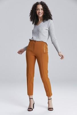 Arka Beli Lastikli Pantolon