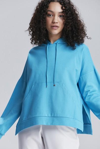 Kapişonlu Bluz
