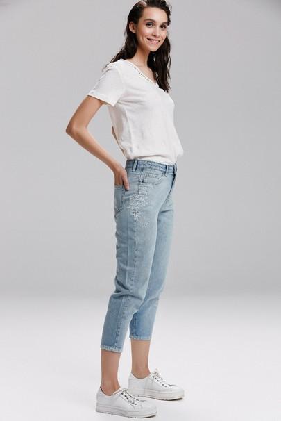 Nakışlı Pantolon