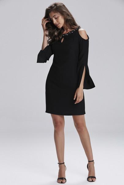 Taş İşlemeli Elbise