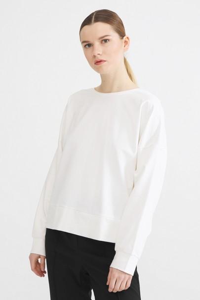 Sırtı Açık Sweatshirt