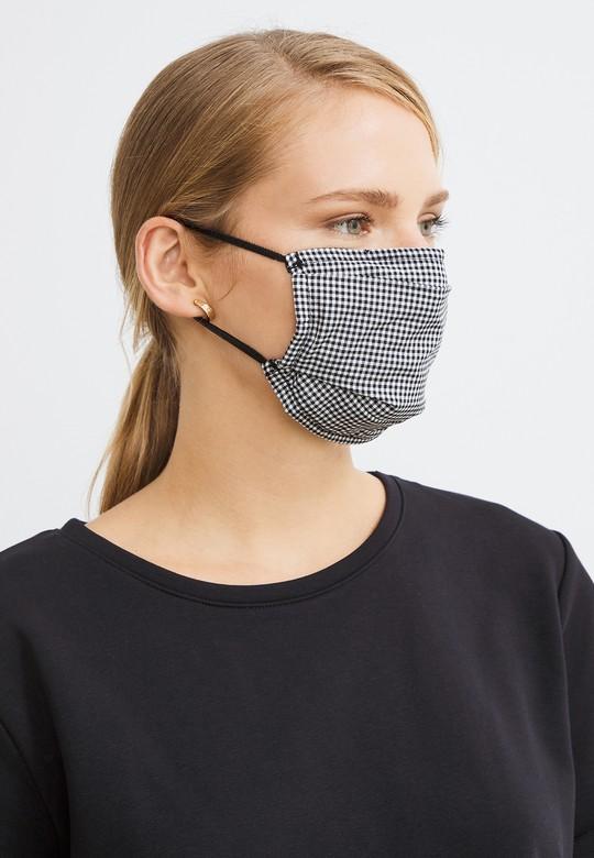 2 li Desenli Maske