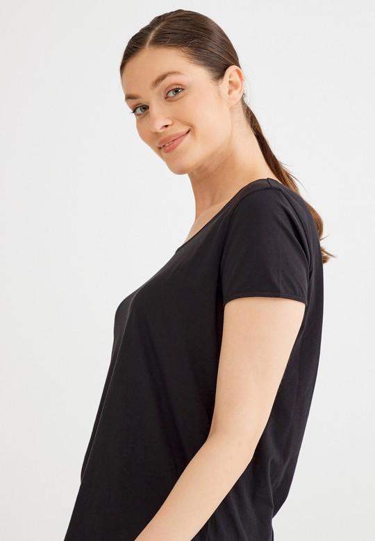 Kısa Kollu Basic Tişört