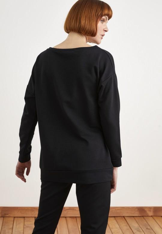 Uzun Kol Oversize Sweatshirt