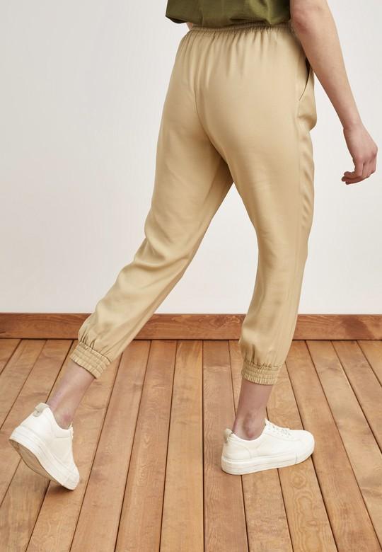 Beli Bağlamalı Jogger Pantolon