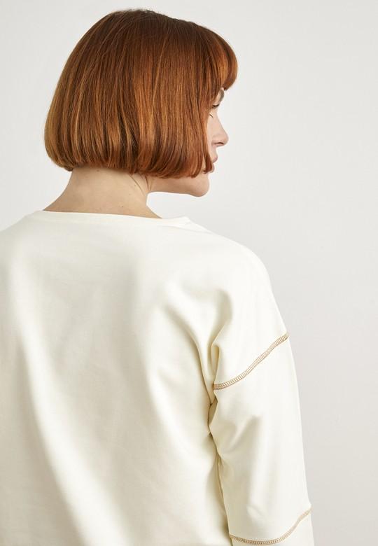 Dikiş Detaylı Sweatshirt