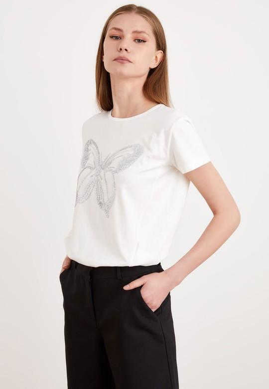 Payet İşlemeli Tişört